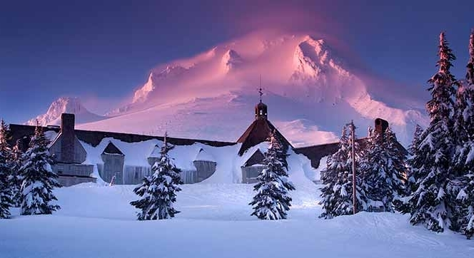 SUNSET SNOWSHOE
