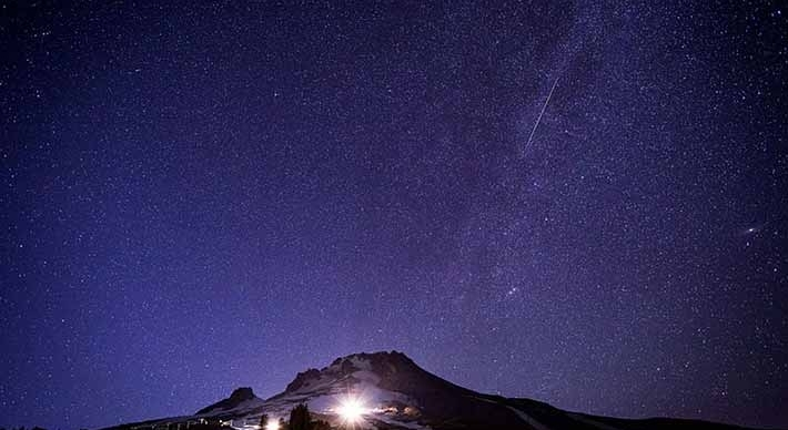 mt hood stargazing