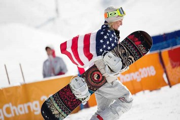 Jamie Anderson went home with a gold in slopestyle and a silver in big air.