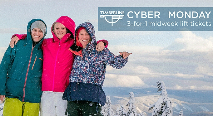 TIMBERLINE CYBER MONDAY