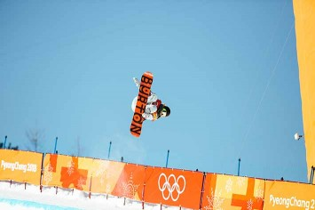 Chloe Kim had already won gold when she took her glory run…and scored higher!
