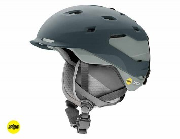 The Smith Quantum Snow Helmet in Matte Thunder Gray