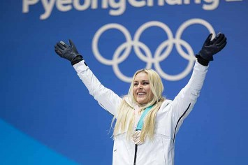 In her final Olympics, Lindsay Vonn took bronze in downhill