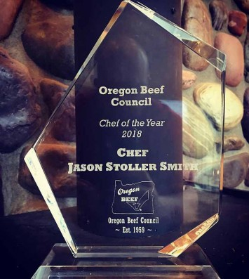 Oregon Beef Council Chef of the Year 2018 Award