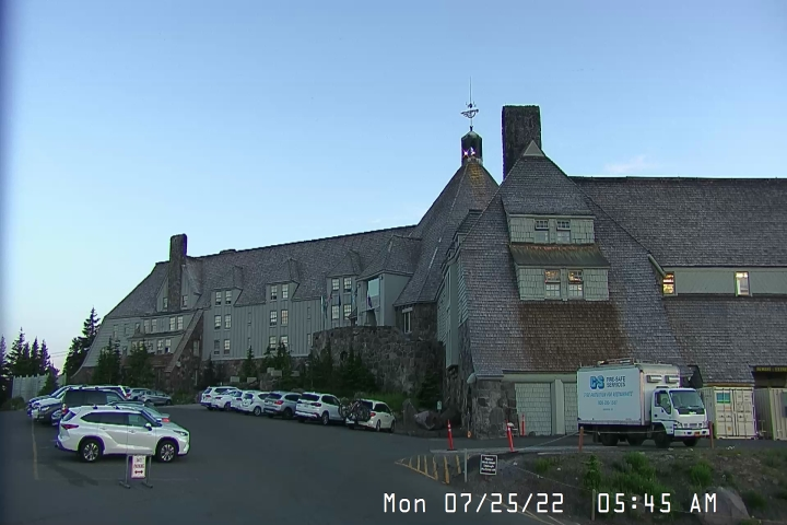 Live Feed: Timberline Lodge Camera